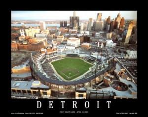 DETROIT~Comerica-Park-Detroit-Michigan-Posters